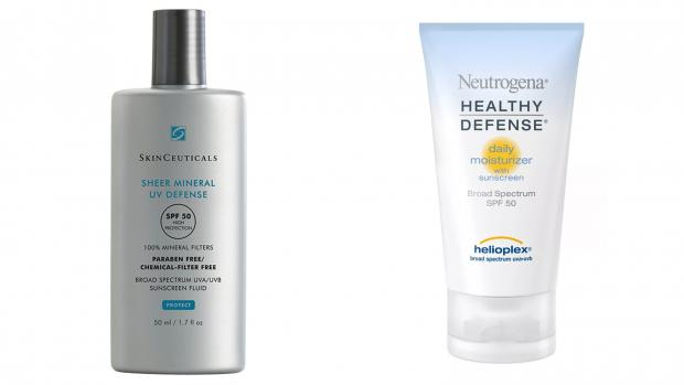 The Argus: You can go in the sun right away with physical sunscreens. Credit: Skinceuticals / Neutrogena