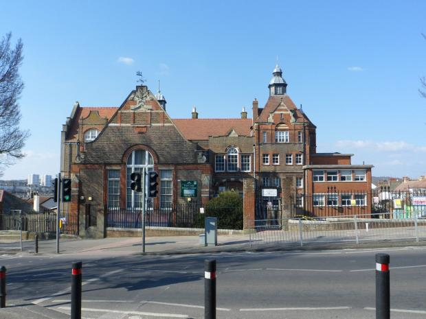 The Argus: Elm Grove Primary School had been built two years before the kings visited