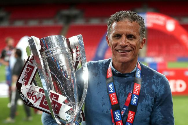 Keith Curle has secured the first promotion of his managerial career