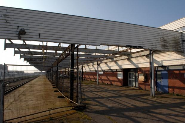 The Argus: Station buildings were demolished three years ago
