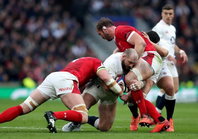 England's Joe Marler in action during the Guinness Six Nations match at Twickenham Stadium, London. PA Photo. Picture date: Saturday March 7, 2020. See PA story RUGBYU England. Photo credit should read: David Davies/PA Wire. RESTRICTIONS: Editorial us