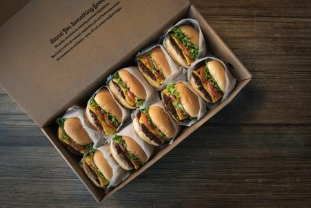 American burger chain Shake Shack has opened for delivery in Brighton