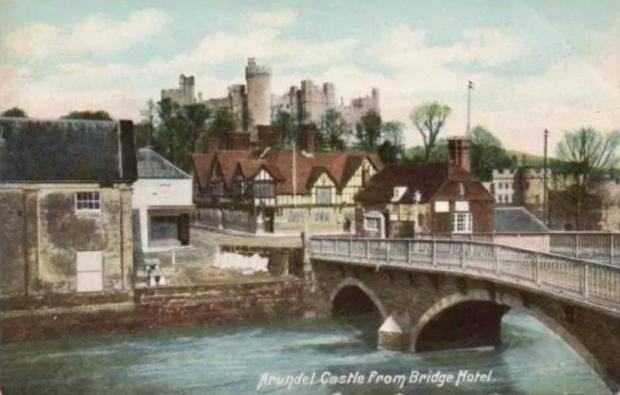 The Argus: A postcard of Arundel's earlier days