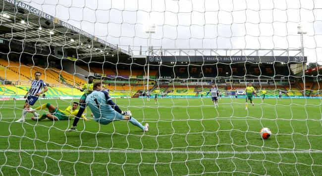 Albion picked up three handy points at Norwich