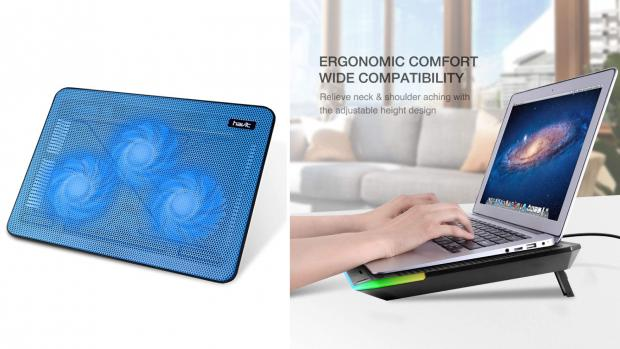 The Argus: This pad will keep both your laptop and your wrists happy. Credit: Havit