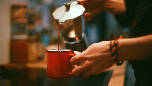 The Argus: Brewing coffee in a moka pot is budget-friendly and easy. Credit: Getty Images / Chatnoir
