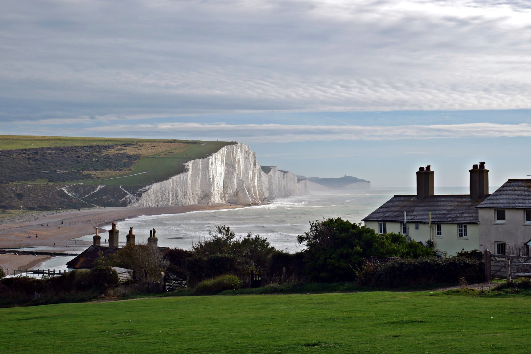 Cuckmere Haven cottages' futures hang in the balance