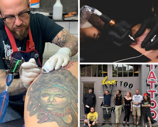 Tattoo studios can open again on Monday in the UK