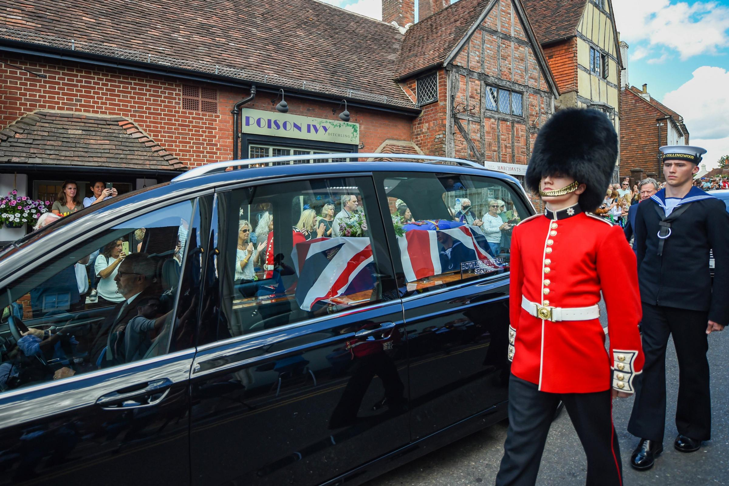 Dame Vera Lynn funeral: full report on the stunning send-off