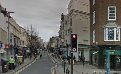 Sussex Police are investigating after an attack in St James's Street Brighton