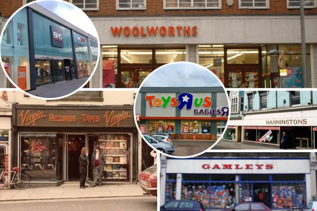 Lots of our favourite shops have gone from the high street in Brighton and Hove. How many of these do you remember?
