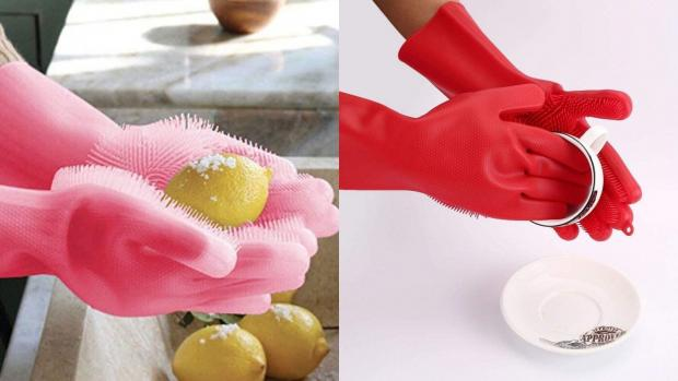 The Argus: Gloves and sponges in one? Yes, please. Credit: Forliver