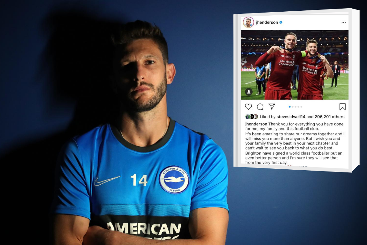 Adam Lallana on taking best mate Henderson's No.14 at Albion