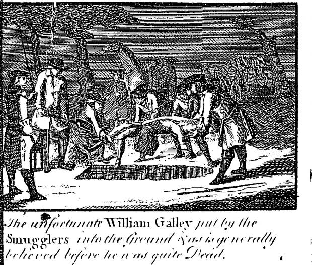 The Argus: Poor William Galley was buried 'before he was quite dead'