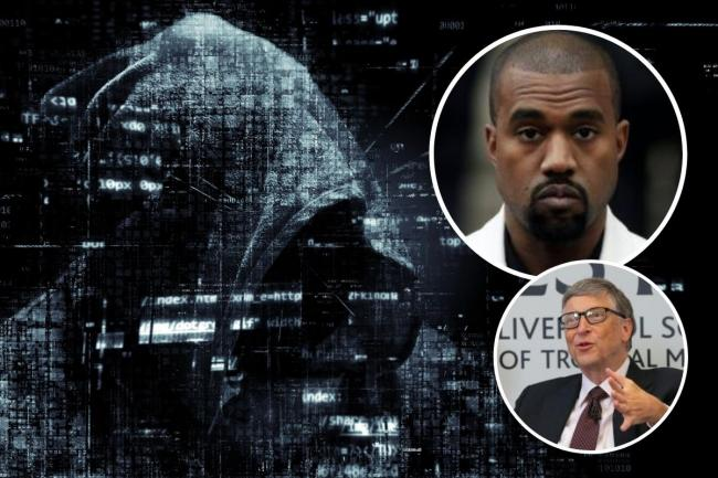 A man from Bognor is one of three people to be charged for hacking Twitter accounts, including Bill Gates and Kanye West. Photos: PA Media