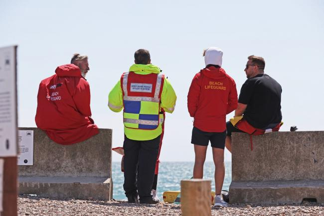 Coastguard teams and lifeboats have been looking for a missing kayaker since this morning