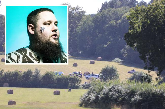A fatal plane crash near Heathfield is reported to have happened just a few hundred feet from Rag'n'Bone Man's Sussex home