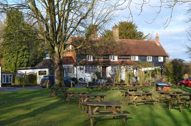 The Blackboys Inn near Uckfield has closed after a staff member tested positive for coronavirus. Photo: Julian P Guffogg