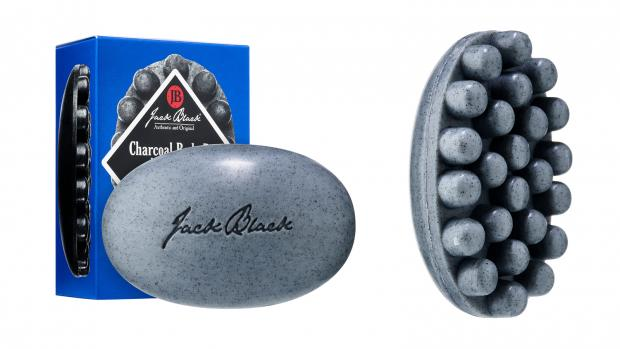 The Argus: Exfoliate your body with the Jack Black Charcoal Body Bar Massaging Soap. Credit: Jack Black
