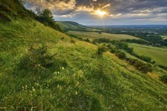 The South Downs is just one area of outstanding natural beauty in Sussex