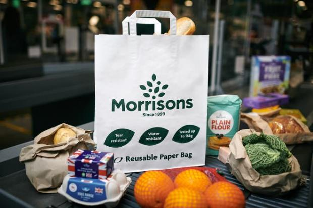 The Argus: The bag can carry up to 16kg of groceries, the food retailer says (Morrisons/PA)