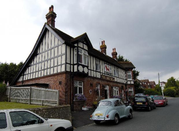 The Argus: The Red Lion, mentioned in Animal Farm. Photo: Andrew Huggett