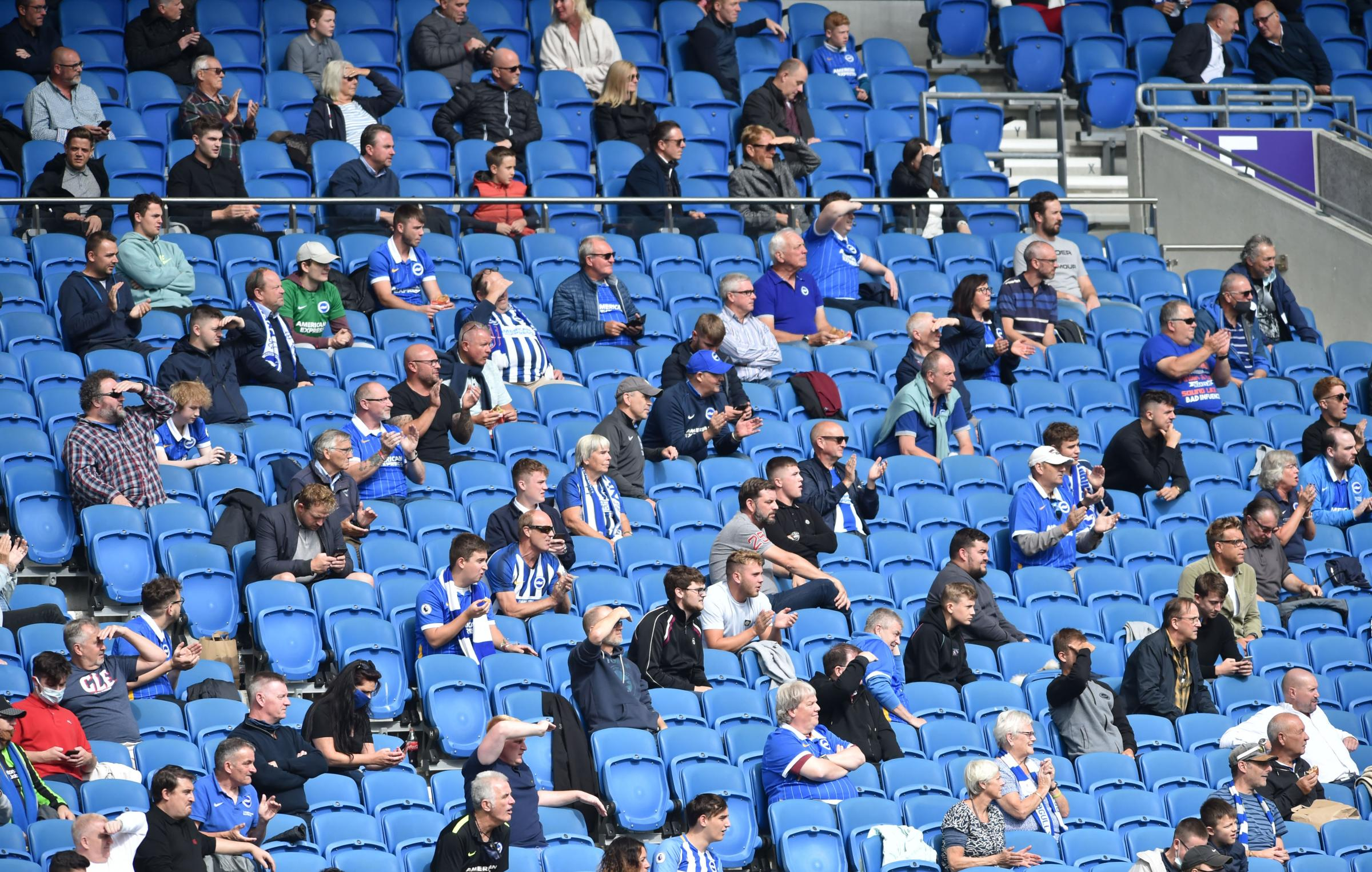 Why Albion must remain on standby for fans' return