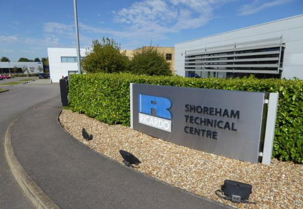 The Argus: Ricardo hopes to manufacture hydrogen-fuelled engines at its Shoreham headquarters. Photo: Shazz