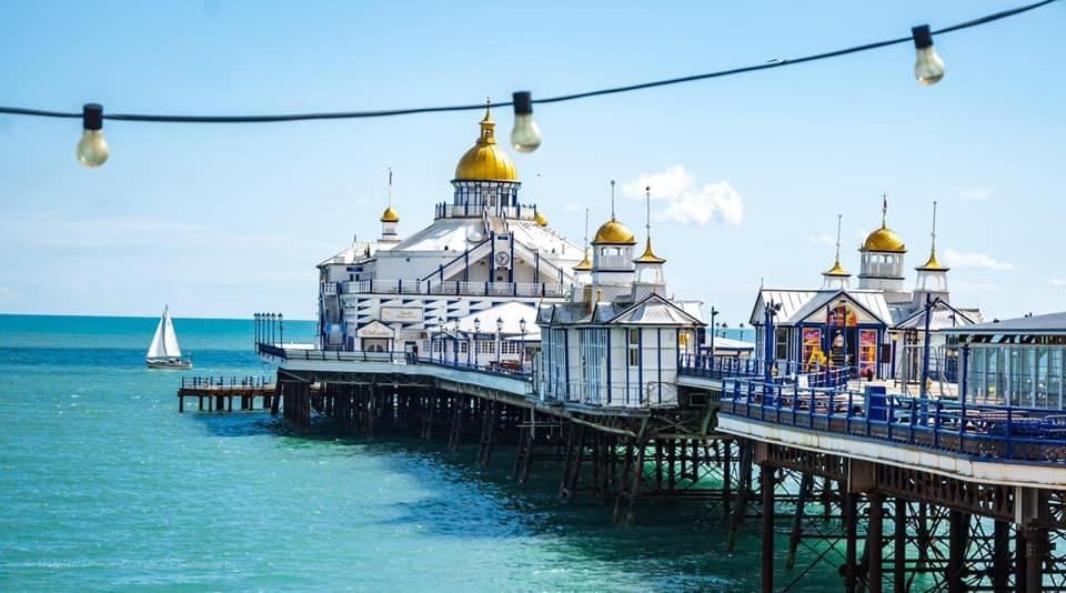 Eastbourne Pier looks vibrant in this shot by Ginger Fair
