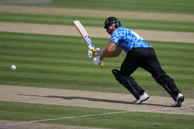 Sussex skipper Luke Wright has signed a new deal at the club. (Photo by Steve Bardens/Getty Images)