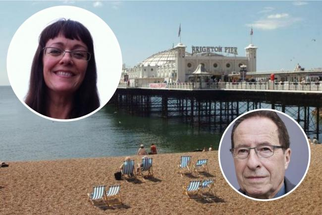 Production designer Madelaine Leech, left, will bring the ITV adaptation of Peter James' crime Roy Grace novels to life, with Brighton seafront forming the backdrop