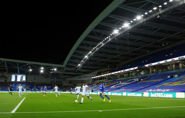 Albion take on Chelsea at the Amex