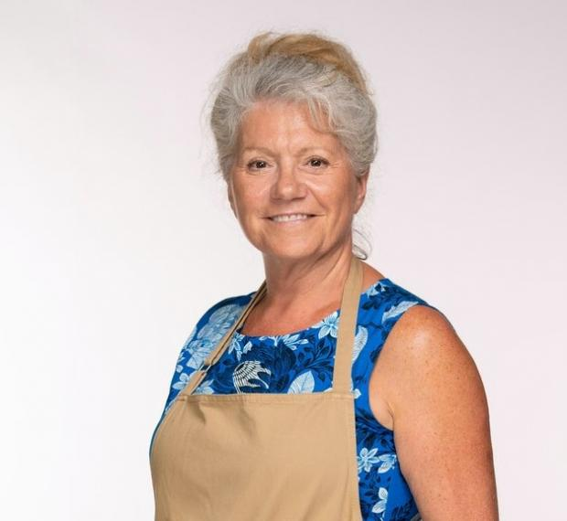 The Argus: Retiree Linda will put her culinary skills to the test in the latest series of The Great British Bake Off (C4/Love Productions/Mark Bourdillon)