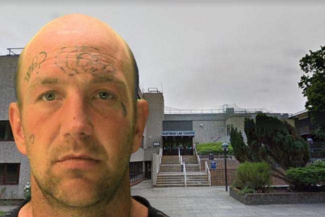 Tobias Denyer has been jailed for abusive behaviour in Brighton and Eastbourne