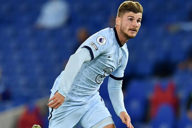 Timo Werner, pictured, has set an immediate target on titles as he settles in at Chelsea