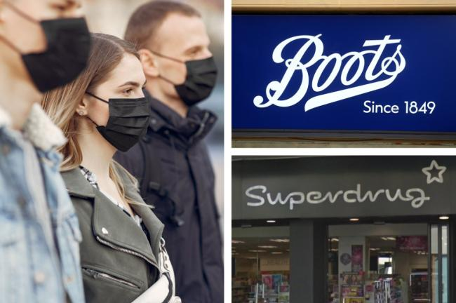 Boots, Superdrug and Lloyds Pharmacy update rules for shoppers. Picture: Newsquest