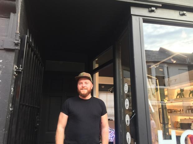 The Argus: Ryan Coughlan, owner of Holler Brighton in Sydney Street