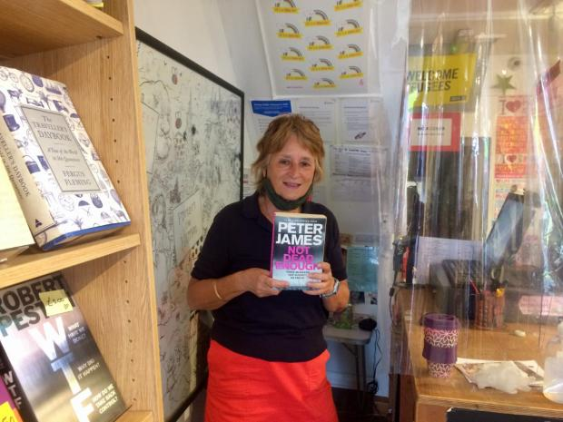 The Argus: Lesley Burgess, who volunteers at Books for Amnesty