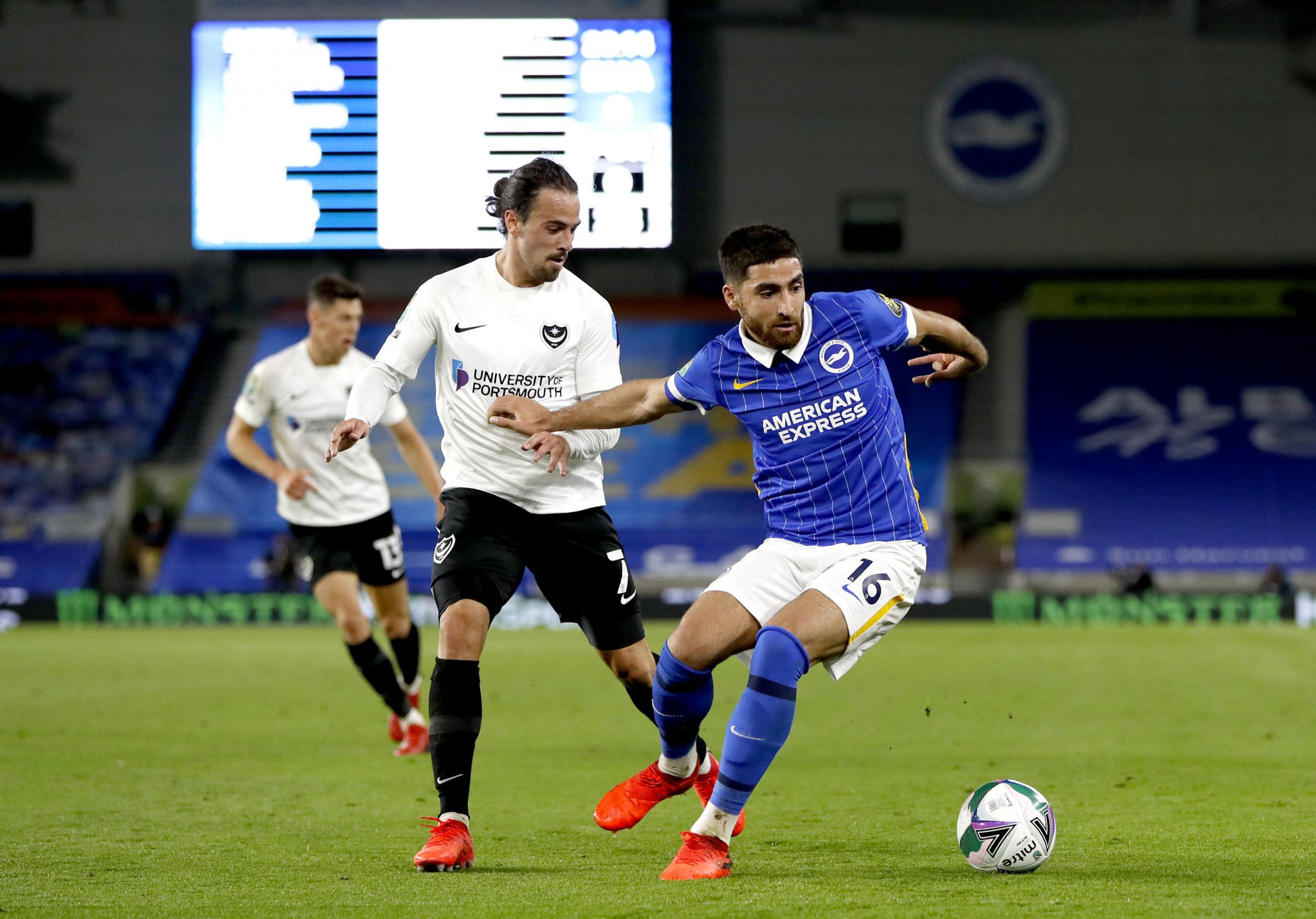 Alireza Jahanbakhsh likely to miss Albion's trip to Palace