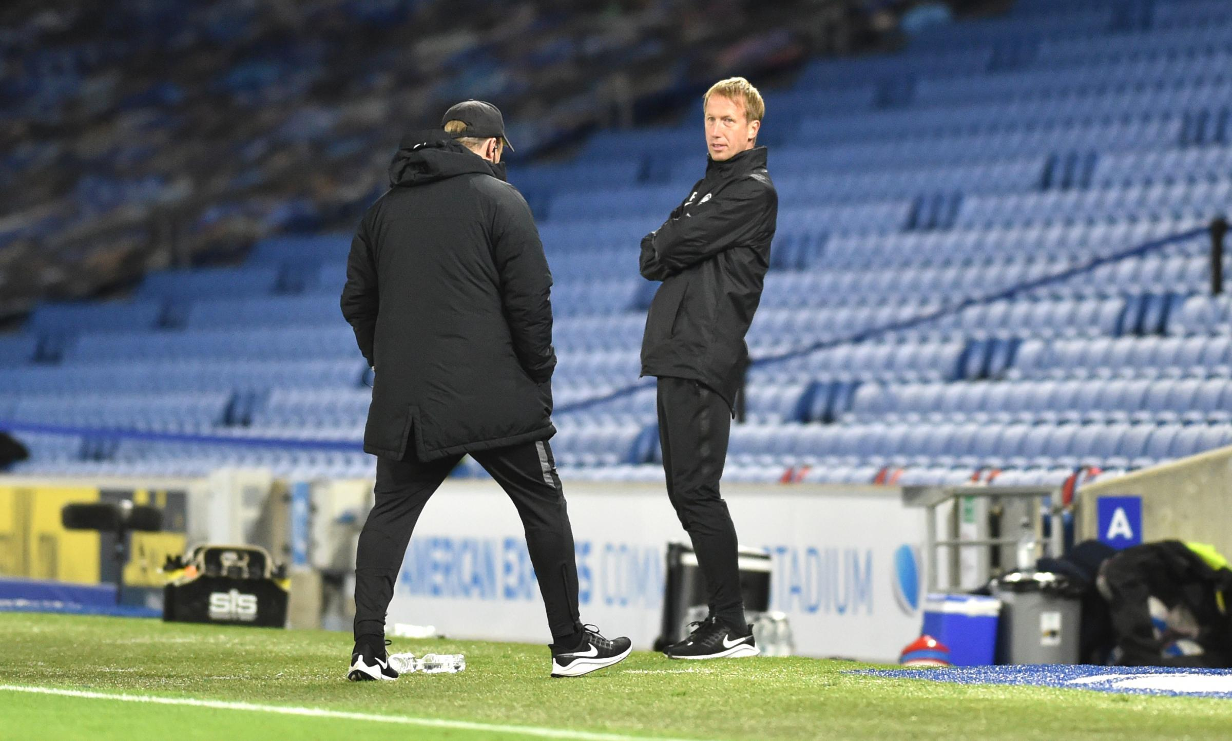 Graham Potter says abuse of referees is a cultural problem