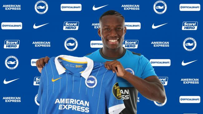 Albion have signed Ulrick Eneme Ella. Picture BHAFC