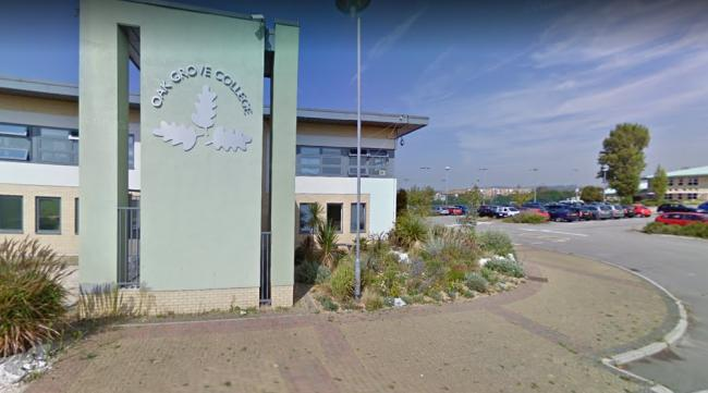 A case of coronavirus has been confirmed at Oak Grove College in Worthing