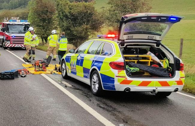 Driver seriously injured in A280 Long Furlong collision