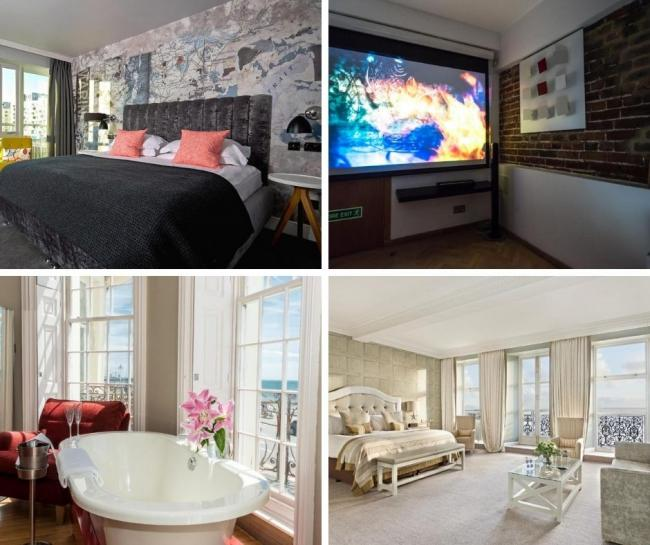 Inside Brighton's most expensive hotel rooms - All images courtesy of Booking.com