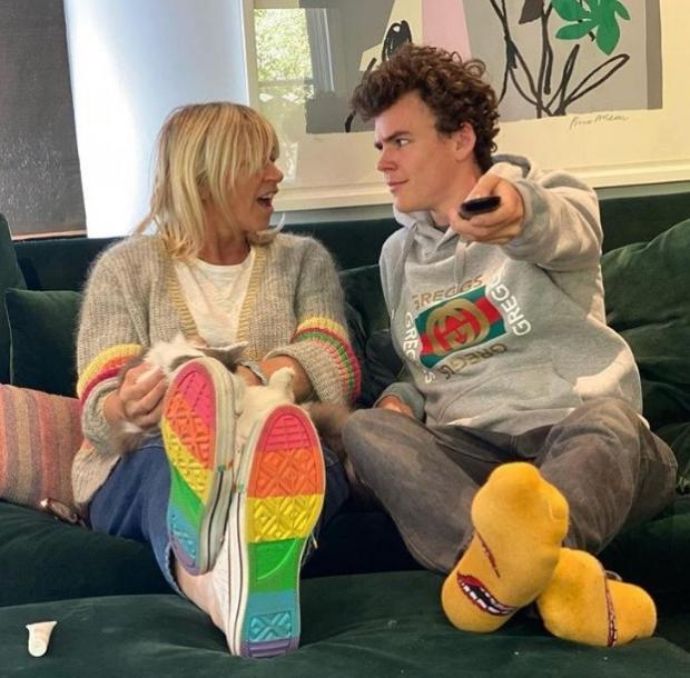 The Argus: Zoe Ball and Woody Cook on Celebrity Gogglebox