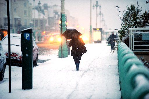 Snow predicted across Sussex