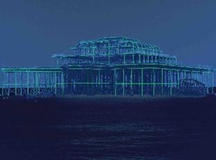 A Pier Appears, West Pier, Brighton, Feb 10