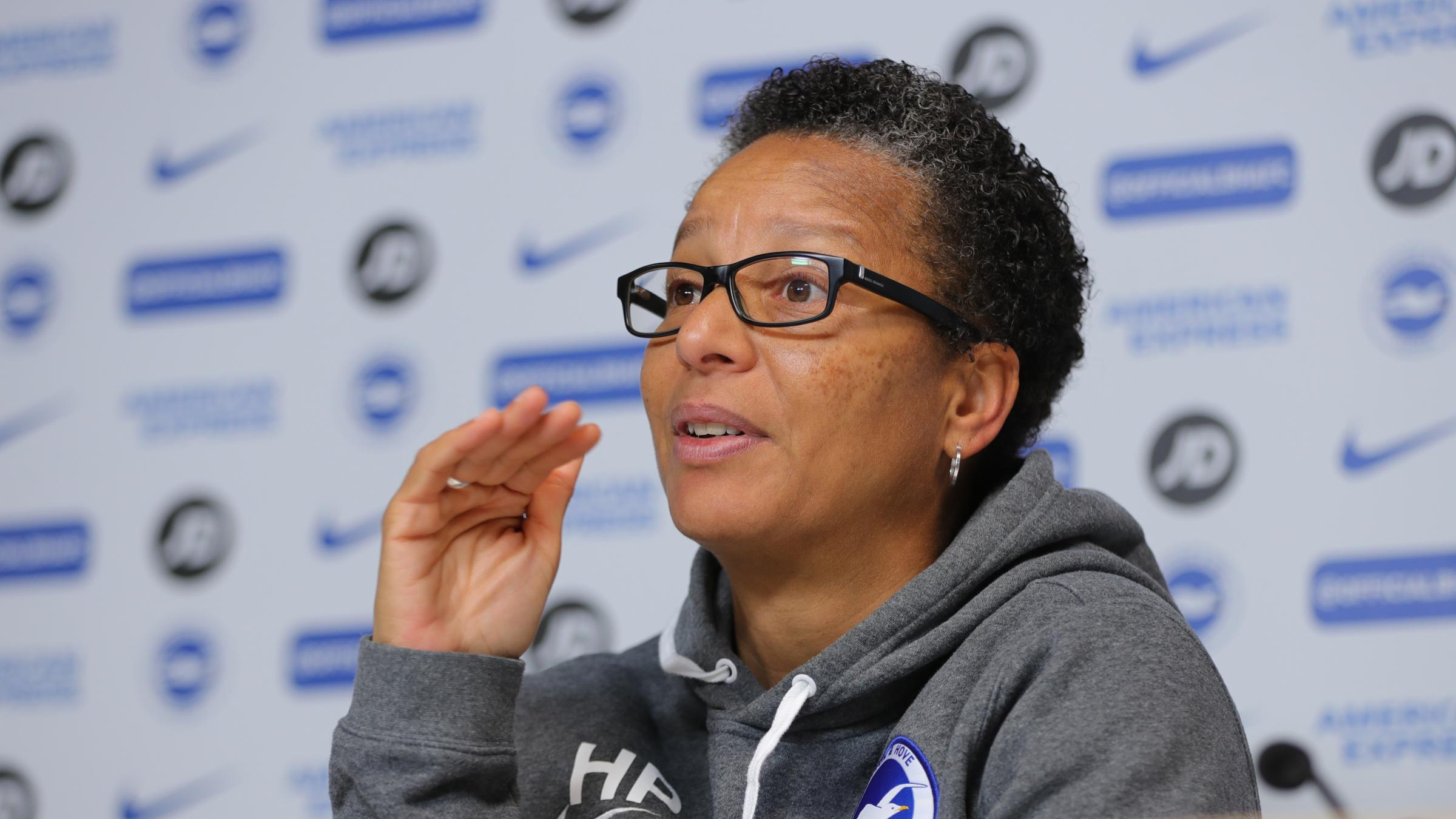 Hope Powell admits their is plenty Albion can learn from their defeat to Arsenal