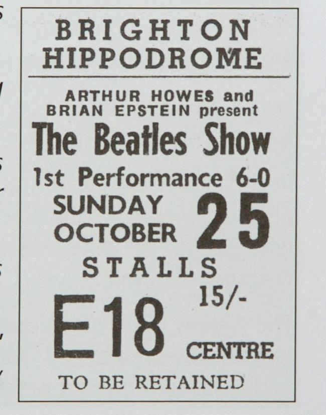 John Lennon's 80th birthday: The Beatles Brighton Hippodrome   The Argus