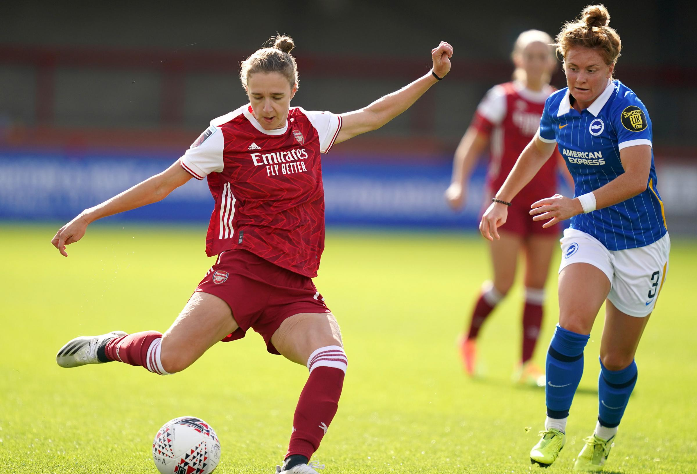 Albion suffer defeat to Arsenal in the WSL
